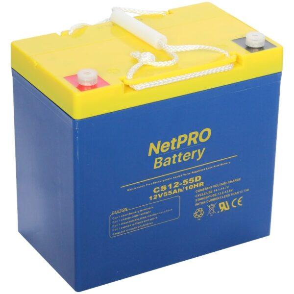 фотография аккумулятор netpro cs12-55d