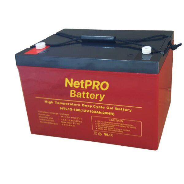 фотография аккумулятор netpro htl 12-100