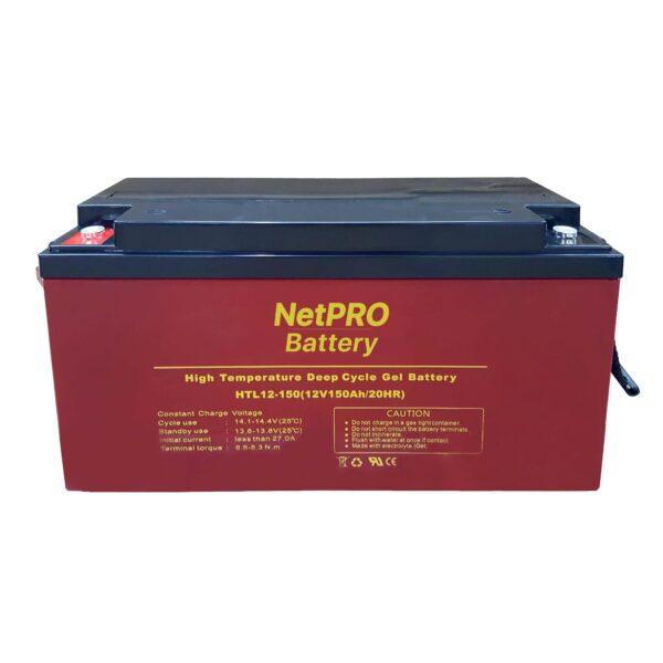 фотография аккумулятор netpro htl 12-150