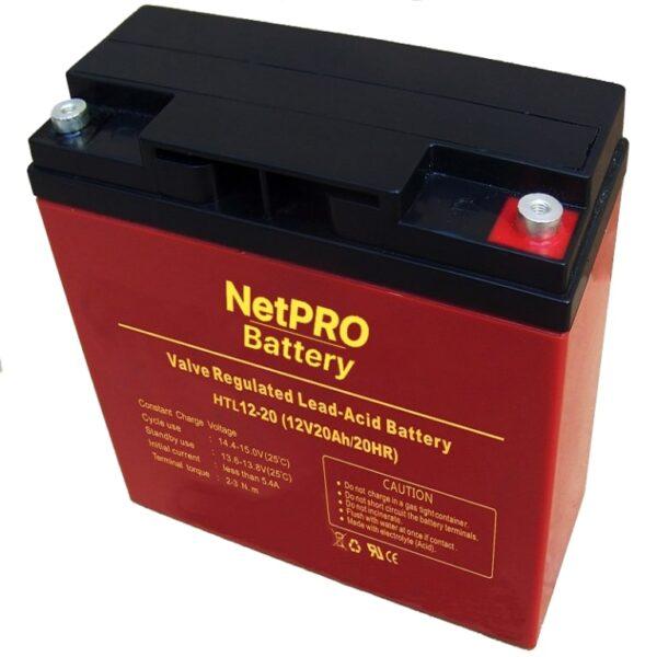 фотография аккумулятор netpro htl 12-20