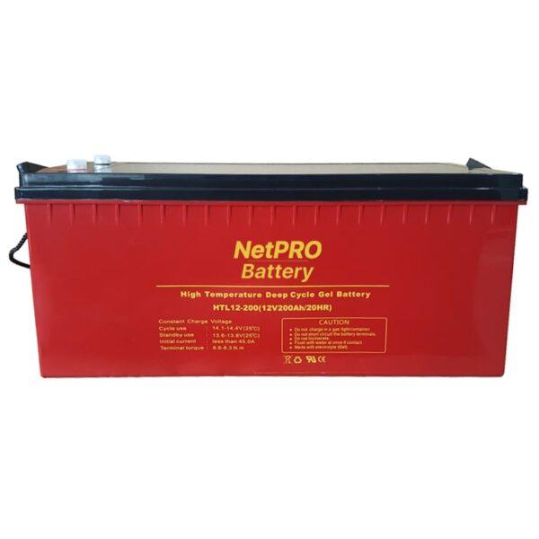 фотография аккумулятор netpro htl 12-200