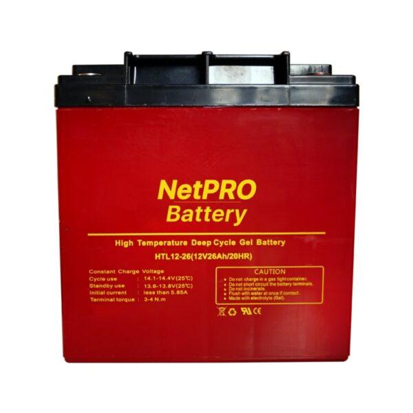 фотография аккумулятор netpro htl 12-26