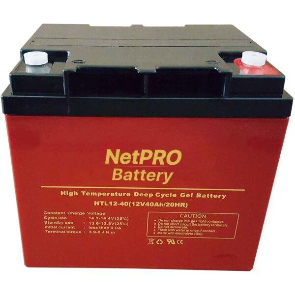 фотография аккумулятор netpro htl 12-40