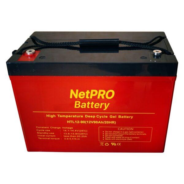 фотография аккумулятор netpro htl 12-90