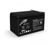 фотография Аккумулятор для Бесперебойника RITAR RT12120B, Black Case, 12V 12Ah