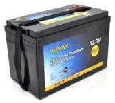 фотография Аккумулятор Vipow LiFePO4 12,8V 100Ah со встроенной ВМS платой 80A