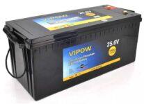 фотография Аккумулятор Vipow LiFePO4 25,6V 100Ah со встроенной ВМS платой 80A