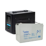 фотография Комплект ИБП для котла Challenger HomeLine 500T12 + AGM аккумулятор Merlion GP121000M8 12V 100.0Ah