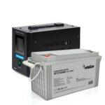 фотография Комплект ИБП для котла Challenger HomeLine 800T12 + AGM аккумулятор Merlion GP121500M8 12V 150.0Ah