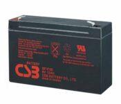 фотография CSB GP6120 - аккумулятор 12Ah 6V