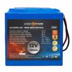 фотография Аккумулятор LiFePO4 LogicPower 12V - 100 Ah (BMS 80A/40A)