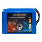 фотография Аккумулятор LiFePO4 LogicPower 12V - 50 Ah (BMS 50A/25A)