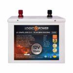 фотография Аккумулятор LiFePO4 LogicPower 12V - 70 Ah (BMS 50A/25A) металл