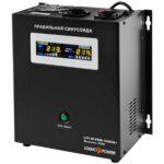 фотография LogicPower LPY-W-PSW-1000VA+(700Вт)10A/20A - ИБП с правильной синусоидой